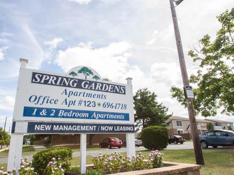 Spring Gardens building exterior